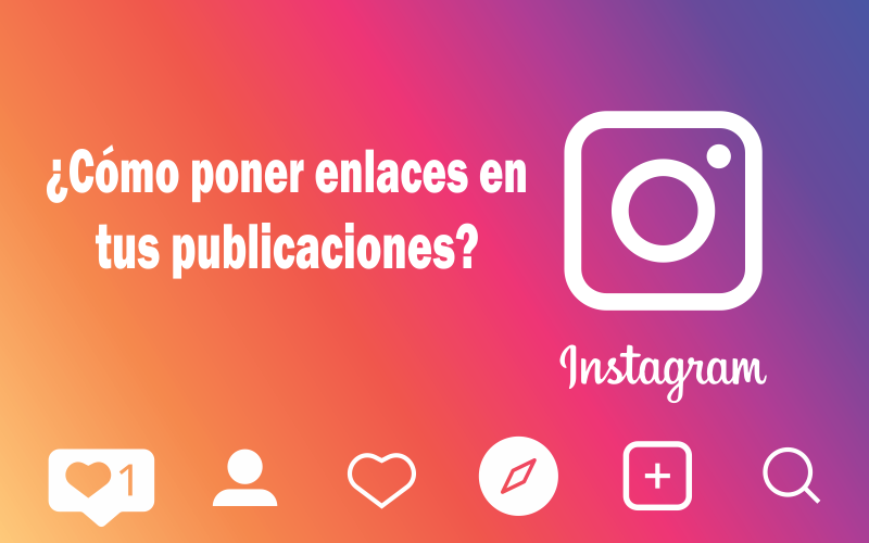 Enlaces en Instagram