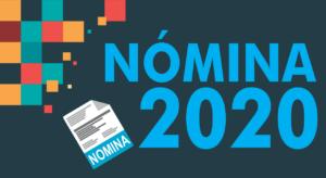 nominas 2020